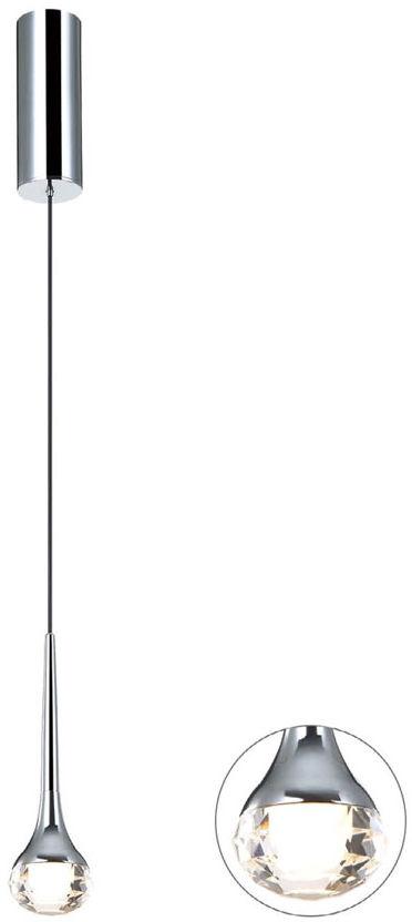 Lampa wisząca Crima Cromo Orlicki Design nowoczesna oprawa w kolorze chromu