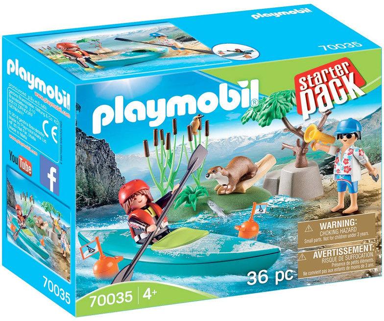 Playmobil - StarterPack Kurs pływania kajakiem 70035