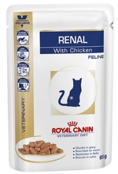 Royal Canin Renal with chicken - 85 g saszetka Cat