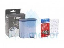 Saeco AquaClean CA6903 Filtr do ekspresu Philips + Saeco CA6704 Tabletki czyszczące 10 tabletek