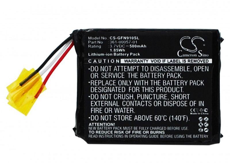 Garmin forerunner 910XT / 361-00057-01 500mAh 1.85Wh Li-Ion 3.7V (Cameron Sino)