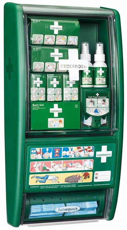 Apteczka Cederroth First Aid & Burn Station REF 51011003