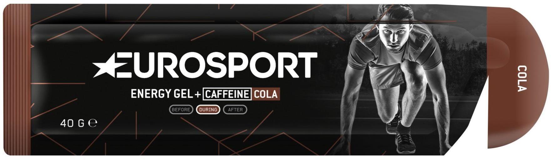 EUROSPORT żel energetyczny NUTRITION cola + kofeina 40g E0030,8718754408165
