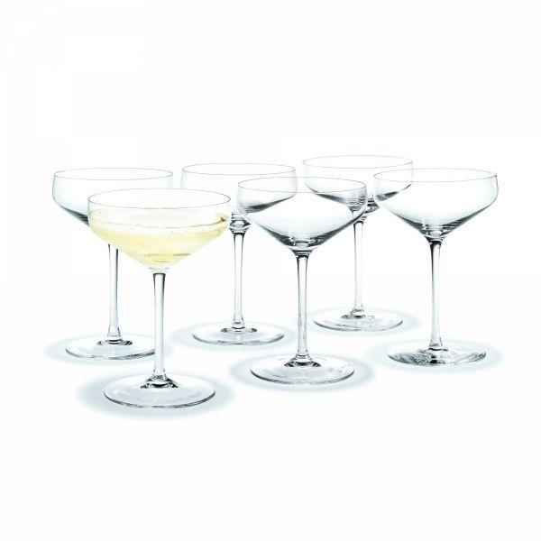 Holmegaard PERFECTION Kieliszki Koktajlowe do Martini 380 ml