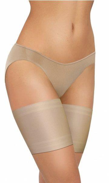 Sesto senso thigh bands gładka beżowa opaska na uda
