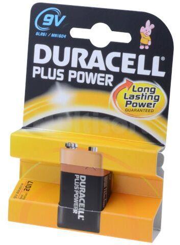 Bateria alkaliczna 9V 6F22 PLUS