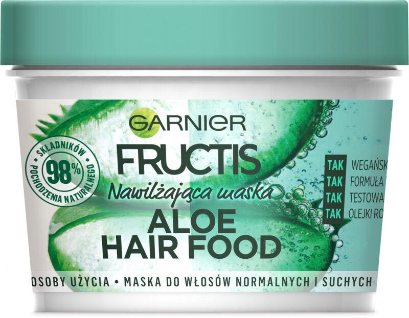 GARNIER - FRUCTIS - ALOE HAIR FOOD MASK - Nawilżająca maska do włosów - Aloes