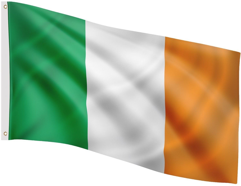 FLAGA IRLANDII IRLANDZKA 120x80 CM NA MASZT IRLANDIA - Irlandii