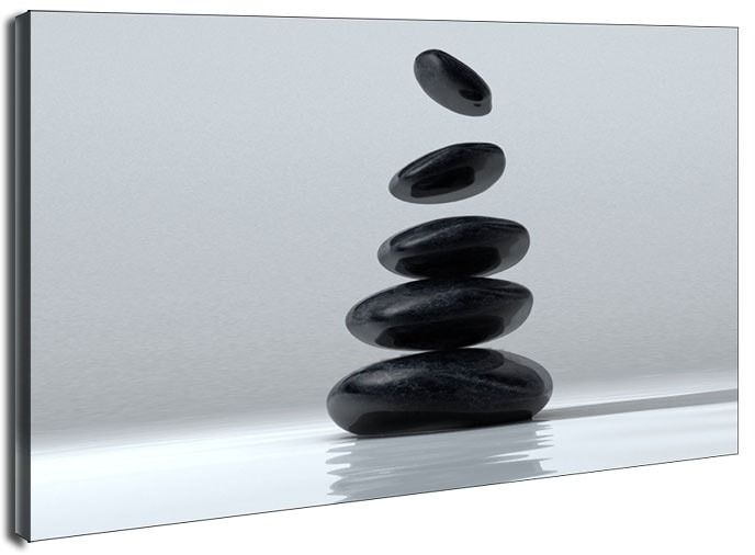 Kamienna budowla - obraz na płótnie wymiar do wyboru: 80x60 cm