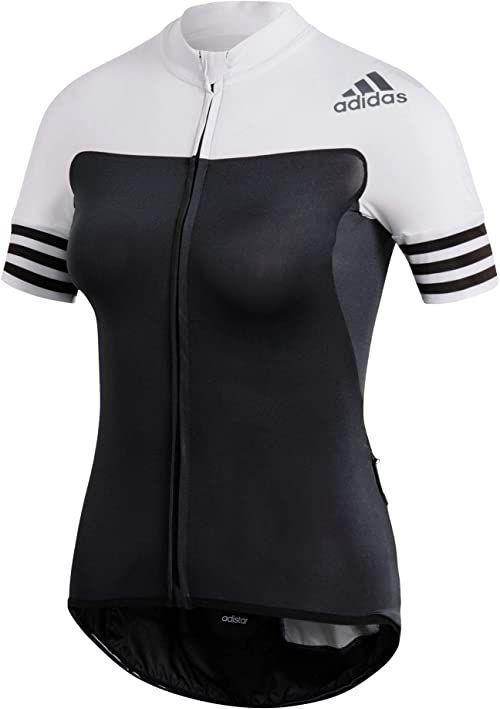 adidas damska koszulka adidas adidas czarny czarny/biały X-L
