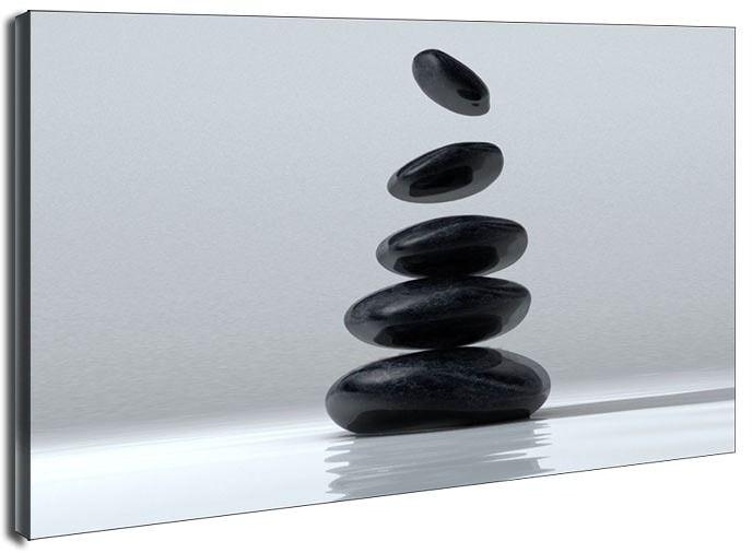Kamienna budowla - obraz na płótnie wymiar do wyboru: 90x60 cm
