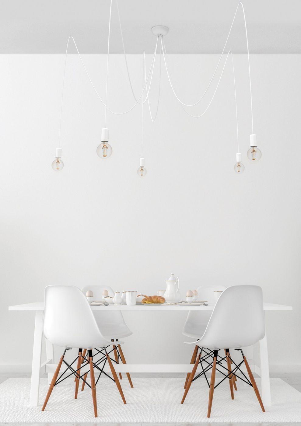 Spider White V 9744 - Nowodvorski - lampa pająk