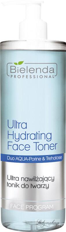 Bielenda Professional - Ultra Hydrating Face Toner - Ultranawilżający tonik do twarzy - 500 ml