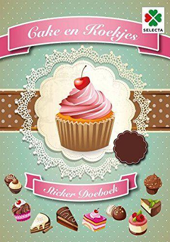 SELECTA SPEL EN HOBBY 54624 Koekjes, taarten, gebak en Cupcakes. Met deze Stickers Ben jij de bakker in je eigen bakkerij. Aantal pagina''s: 32, Groen