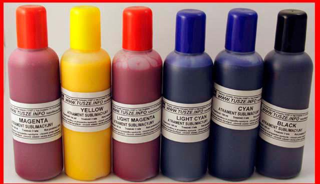 Zestaw tusz sublimacja INK-MATE 4x100ml