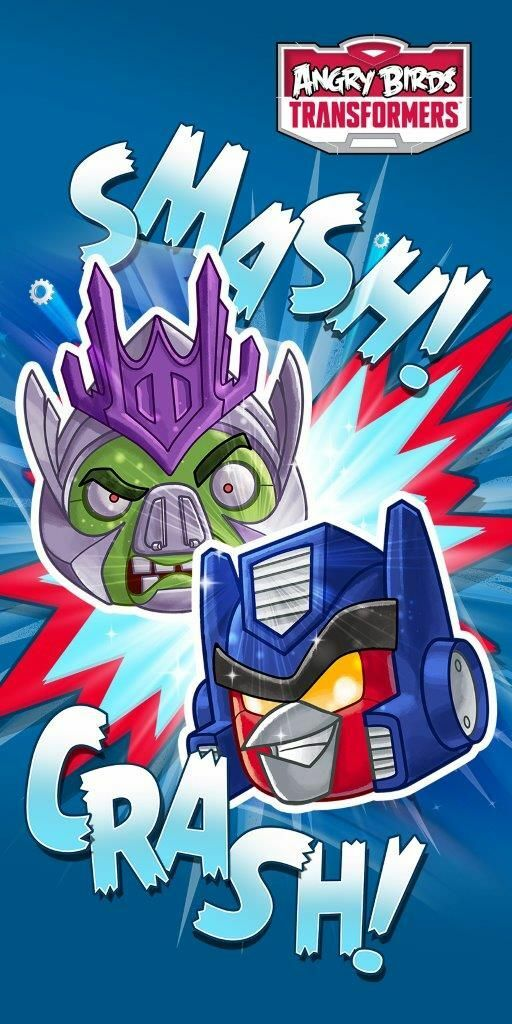 Ręcznik Angry Birds Transformers 70x140 D Smash 01 9616