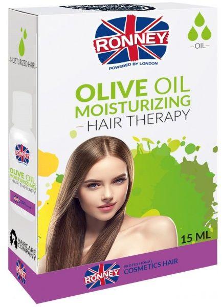 Olejek do włosów RONNEY Hair Oil Olive Oil nawilżający 15ml