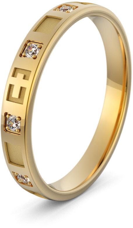 Pierścionek złoty różaniec - Au-1158