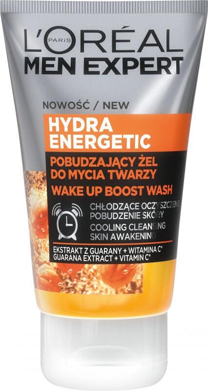 L''Oréal - MEN EXPERT - HYDRA ENERGETIC GEL - Pobudzający żel do mycia twarzy - 100 ml
