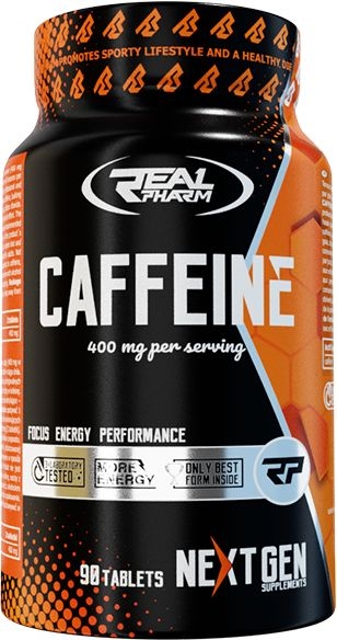REAL PHARM - CAFFEINE 90 TAB