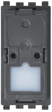 Mechanizm wyłącznika schodowego 1P NO 10 A 250 V, zaciski sprężynowe
