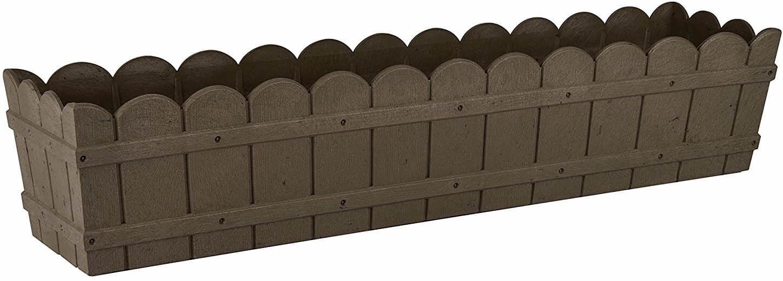 Skrzynka Country, 75x17x15cm, kol. brązowy