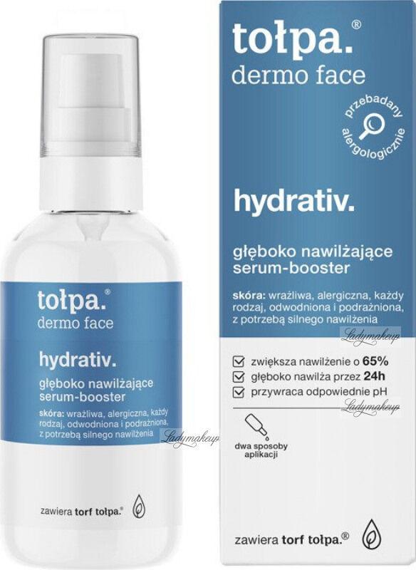 Tołpa - Dermo Face Hydrativ - Głęboko nawilżające serum booster do twarzy - 75 ml