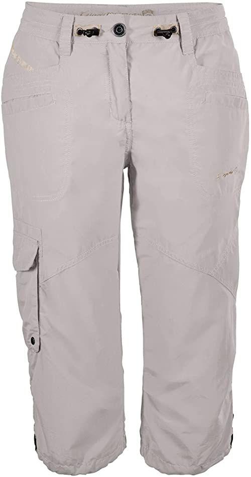 G.I.G.A. DX Damskie spodnie Capri, spodnie cargo 3/4, regulowane, białe, 34