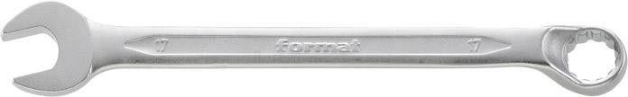 Profesjonalny Klucz Płasko-Oczkowy 6mm Stal Chromowana Odsadzony Format