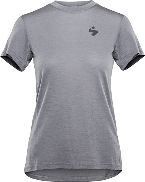 Sweet Protection Damska koszulka Hunter Merino Ss Jersey W Jersey szary Jasnoszary M