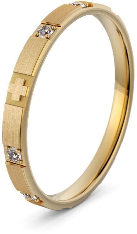 Pierścionek złoty różaniec - Au-1160