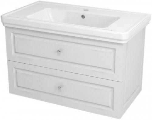 Szafka umywalkowa SoftClose 83x52x46cm, biała