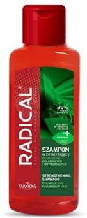 RADICAL mini szampon wzmacniający do włosów osłabionych i wypadających, 100ml