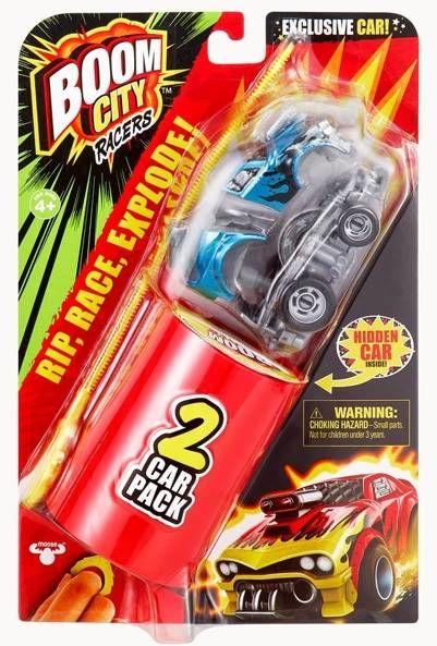 Boom City Racers Fire it up! X Auto dwupak S1 - TM Toys