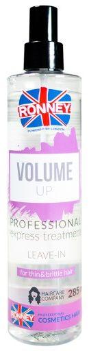 Ronney Volume Up, spray zwiększający objętość włosów, do cienkich i słabych 285ml