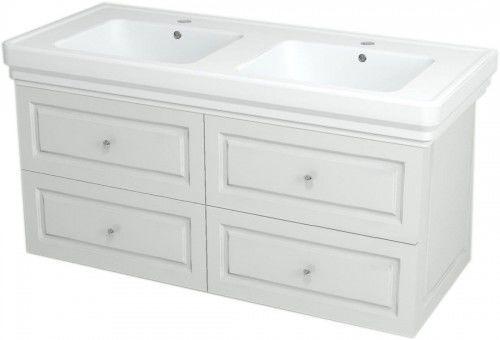 Szafka umywalkowa SoftClose 116x52x48,5cm, biała