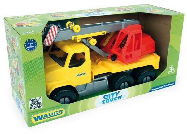 Pojazd City Truck Dźwig