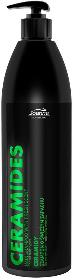 Joanna Szampon fryzjerski z ceramidami o świeżym zapachu 1000 ml
