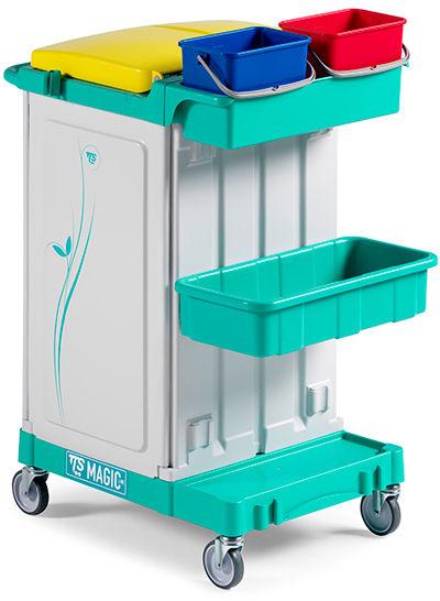 TTS Magic Line 020 Professional - wózek serwisowy do sprzątania