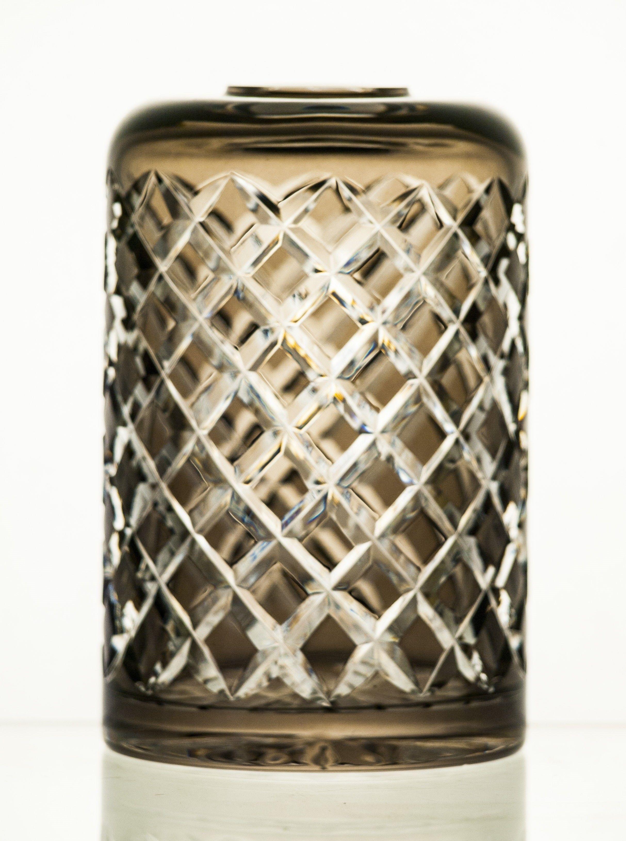 Wazon lub pojemnik na zapachy kryształowy kolorowy (16162)