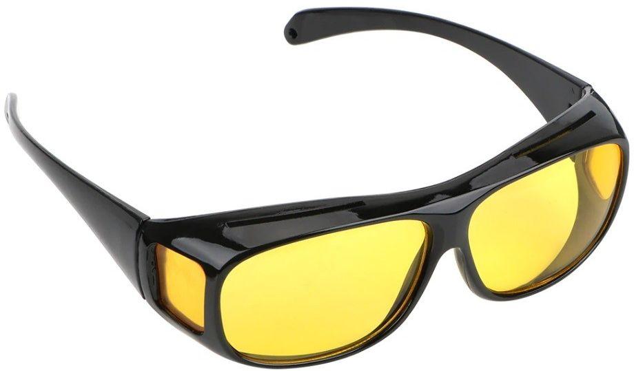 Okulary nakładane rozjaśniające HD VISION dla kierowców do jazdy w nocy