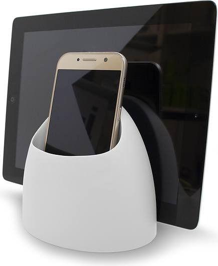 Podstawka pod telefon lub tablet hub jasnoszara