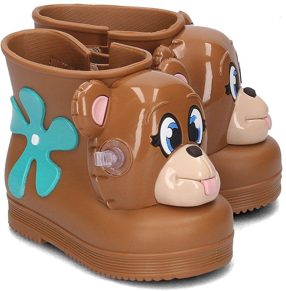 Melissa Monkey Boot + Jeremy Scott - Kalosze Dziecięce - 31825 01656 - Brązowy