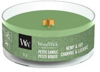 Hemp & Ivy świeca petite WoodWick