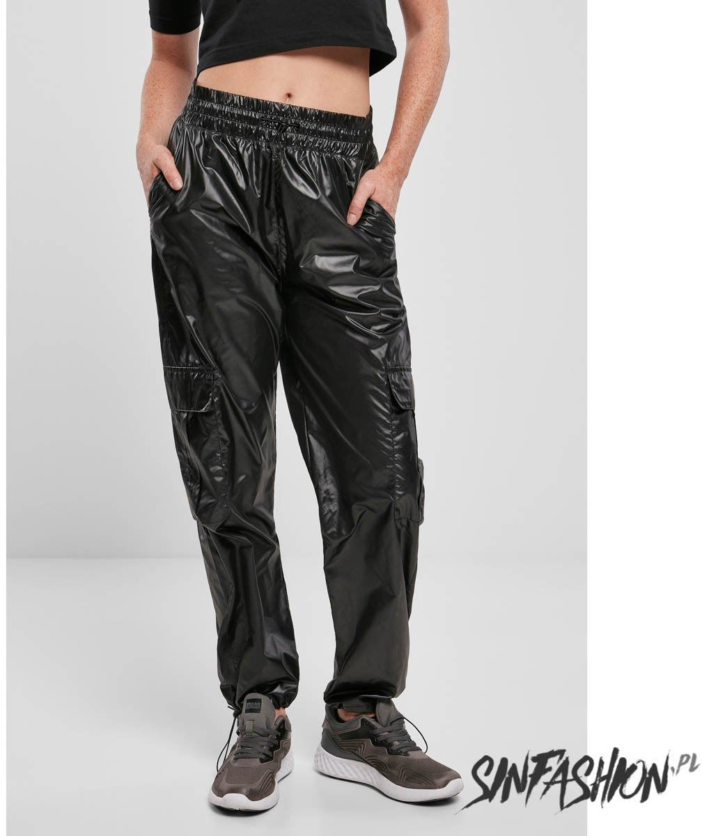 Spodnie urban classics shiny cargo