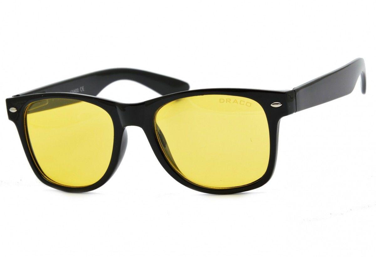 Polaryzacyjne okulary dla kierowców Nerdy do jazdy w nocy we mgle i deszczu Pol-W1