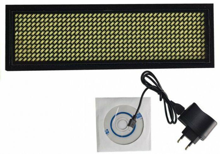 Mini tablica LED 9,5 cm x 3 cm