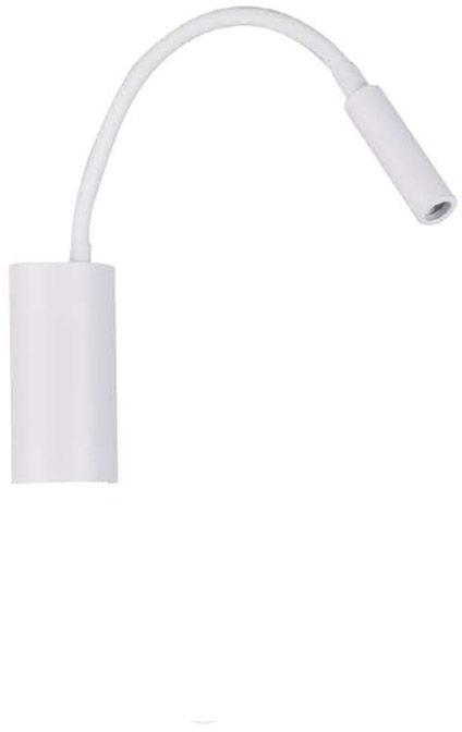 Kinkiet Nuto Bianco Orlicki Design biała oprawa w nowoczesnym stylu