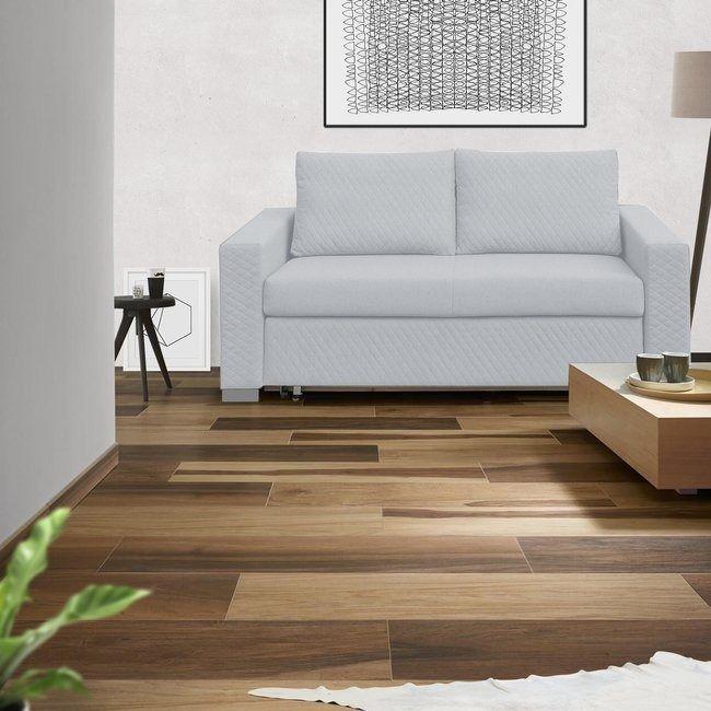 Derpik sofa dwuosobowa 170 cm, jasny szary