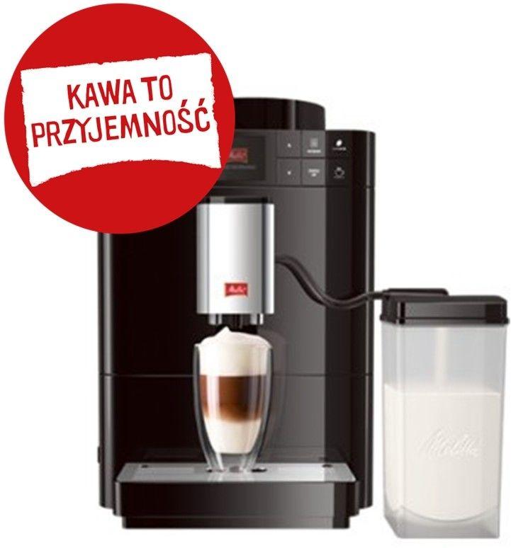 Ekspres do kawy Melitta F53/0-102 Caffeo Passione - czarny